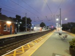 Manningtree Station At Dusk Looking North