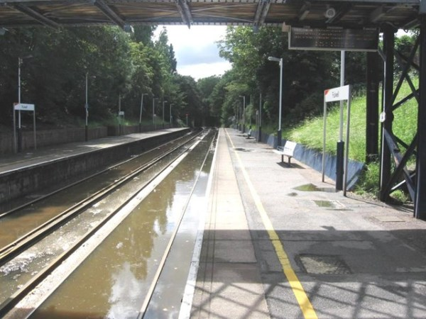 Flooding At Fulwell