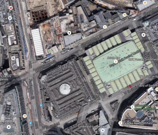The New Museum Of London Site