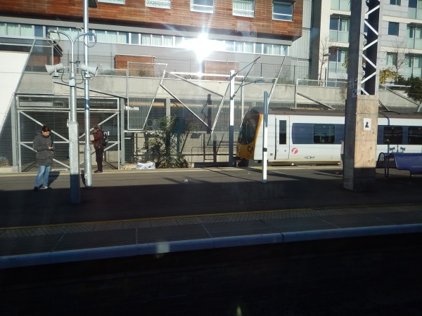 A Heathrow Connect Class 360 Train in Platform 5 At Hayes and Harlington Station