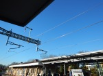 Overhead Wires Glisterning In The Sun At Maidenhead Station