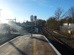 Looking Down The Henley Branch Line From Twyford Station