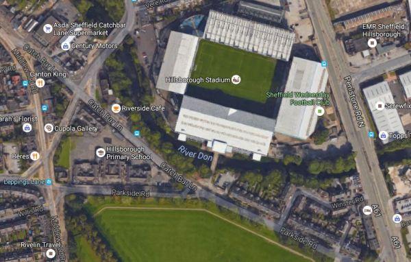 Hillsborough Stadium And The Supertram