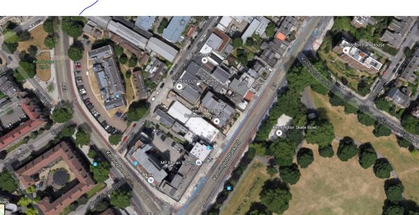 Kennington Green And Kennington Park Work Sites