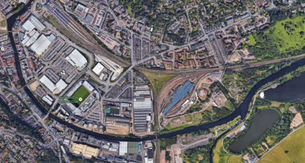 Norwich Station And Approach Lines
