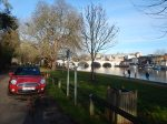 Walking From Hampton Court To Kingston