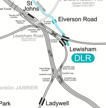Lines Through Lewisham