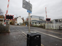 Mortlake Station With A Level Crossing