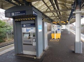A Ticket Machine On The Platform