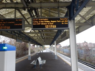 ancelled Trains