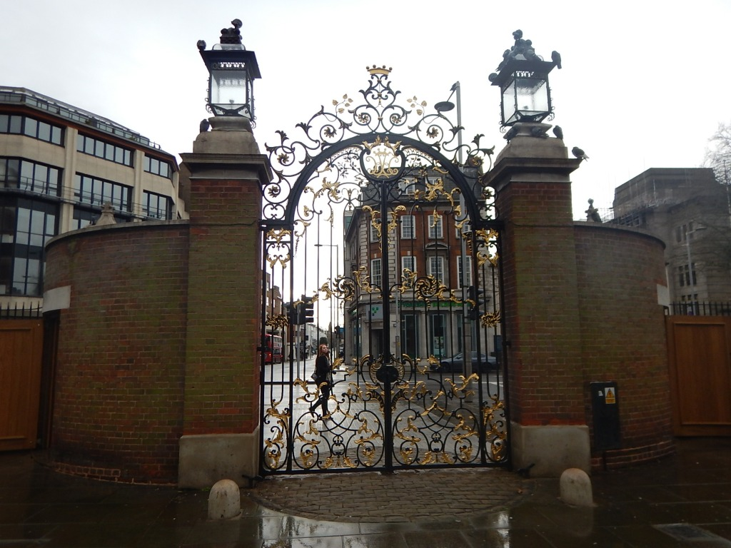 Entry Into Holland Park