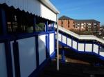 The New Footbridge At Kenton Station
