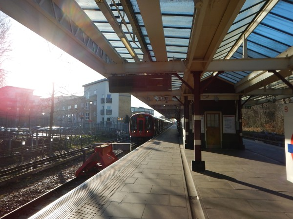 The Platforms At Watford Station