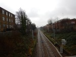 Looking East From The Bridge At Upper Holloway Station