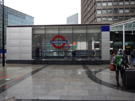 The New Cardinal Place Entrance At Victoria Tube Station