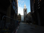 Looking North To St. Stephen Walbrook