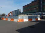 Work On The Forecourt Of Tottenham Hale Station