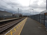 Waltham Cross Station - Note M25 Bridge With Two Spans In The Background