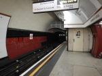 Bakerloo Line Platform At Elephant And Castle Station
