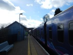 Arrival At Bedwyn Station