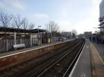 Platforms 3 And 4 At Lewisham Station