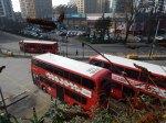 Buses Beside Platform 1 At Lewisham Station