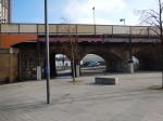 The Platform On The Bridge At Lewisham Station