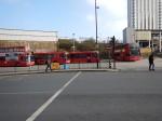 Buses Along The Railway