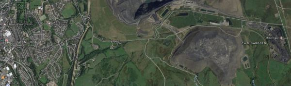 Merthyr Tydfil And The Ffos-y-fran Land Reclamation Scheme