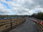 Pedestrians Can Walk Directly Onto The StationFootbridge