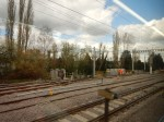 Track And Catenary Work Approaching ShenfieldStation