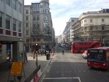 Crossing London Wall