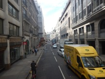 Continuing Down Moorgate
