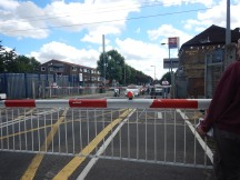 The Mother Of All Level Crossing Jams