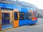 Platform -Tram Interface On A Class 399Tram-Train