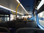 Upstairs On A BYD Battery-Electric Double-DeckBus