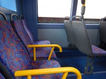 Upstairs On A BYD Battery-Electric Double-Deck Bus