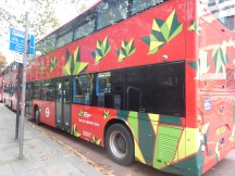 A BYD EBattery-Electric Double-Deck Bus