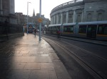 The New Southbound Track And A Test Tram GoingNorth