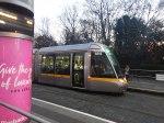 New Tram By St. Stephen'sGreen