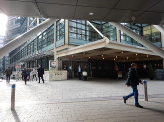 The Northern Entrance At City Thameslink Station