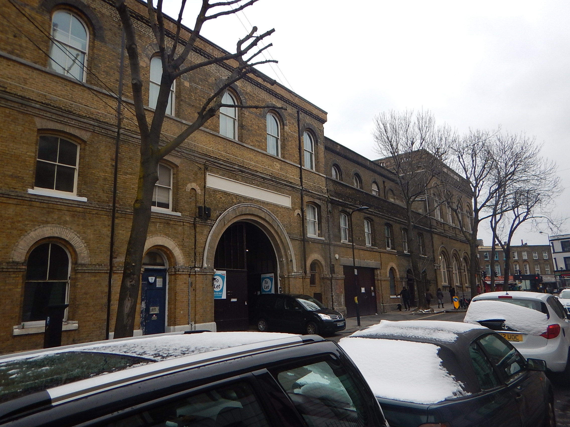 The Extensive Buildings Of Camden Road Station Anonymous Widower