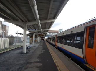 Platform 2 At Clapham Junction Station