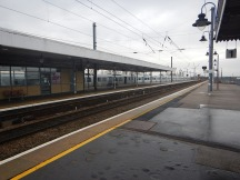 A Twelve-Car Class 700 Train In Ely Station