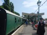 At Swanage Station