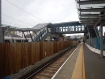 The Middle Footbridge At Abbey Wood Station - 21st May 2018