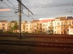 Tall Houses Along TheRailway