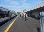 Wide Platforms At Hackney WickStation