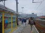 Arrival At BlankenbergeStation