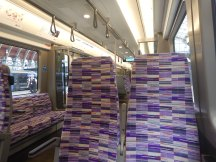 Inside A Class 345 Train
